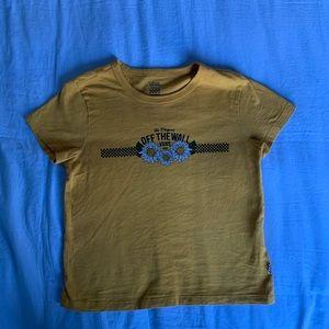 Sunflower Vans T-Shirt
